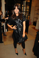CLAUDIA WINKLEMAN at a party to celebrate the launch of the book 'Long Way Down' by Ewan McGregor and Charley Boorman held at Smythson, 40 New Bond Street, London W1 on 19th November 2007,<br /><br />NON EXCLUSIVE - WORLD RIGHTS