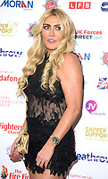 Paula London at the Sapper Support celebrity charity event for the launch of their brand-new PTSD support lanyard at The Army & Navy Club, London