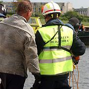 Brandweerwedstrijden brandweer Huizen, duiken, vest duikleider