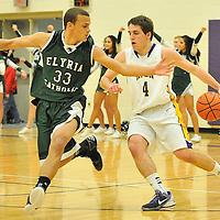 2.1.2013 Elyria Catholic at Avon Boys Varsity Basketball