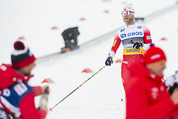 March 9, 2019 - Oslo, NORWAY - 190309 Martin Johnsrud Sundby of Norway looks dejected after the men's 50 km classic technique during the FIS Cross-Country World Cup on March 9, 2019 in Oslo..Photo: Fredrik Varfjell / BILDBYRÃ…N / kod FV / 150211. (Credit Image: © Fredrik Varfjell/Bildbyran via ZUMA Press)