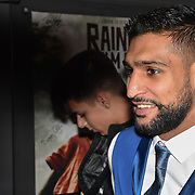 British Asain Boxer Amir Khan attend World Premiere of Team Khan - Raindance Film Festival 2018 at Vue Cinemas - Piccadilly, London, UK. 29 September 2018.