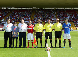 - Photo mandatory by-line: Joe Meredith/JMP - Tel: Mobile: 07966 386802 13/07/2013 - SPORT - FOOTBALL - Bristol -  Bristol City v Glasgow Rangers - Pre Season Friendly - Bristol - Ashton Gate Stadium