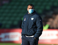 Kurtley Beale of Racing wearing a mask before the game