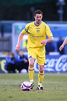 Frazer Richardson (Leeds United)<br /> Brighton and Hove Albion vs Leeds United at the Withdean Stadium Brighton. Coca Cola Football League One. 17/01/2009<br /> Credit Colorsport / Shaun Boggust