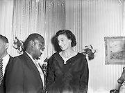 Lady Goulding Hosts Party for Louis Armstrong. Enniskerry - 12pm-4pm..19/05/56