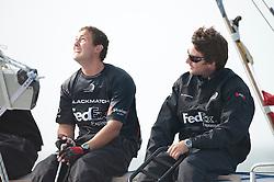 Adam Minoprio (NZL) ETNZ/BlackMatch Racing . Danish Open 2010, Bornholm, Denmark. World Match Racing Tour. photo: Loris von Siebenthal - WMRT