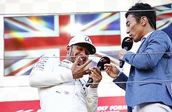 October 8, 2017 - Suzuka, Japan - Motorsports: FIA Formula One World Championship 2017, Grand Prix of Japan, .#44 Lewis Hamilton (GBR, Mercedes AMG Petronas Formula One Team) (Credit Image: © Hoch Zwei via ZUMA Wire)