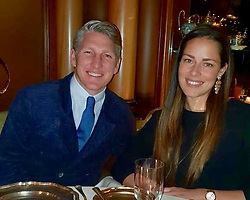 """Ana Ivanovic releases a photo on Instagram with the following caption: """"Happy Valentine\u2019s my love \u2764"""". Photo Credit: Instagram *** No USA Distribution *** For Editorial Use Only *** Not to be Published in Books or Photo Books ***  Please note: Fees charged by the agency are for the agency's services only, and do not, nor are they intended to, convey to the user any ownership of Copyright or License in the material. The agency does not claim any ownership including but not limited to Copyright or License in the attached material. By publishing this material you expressly agree to indemnify and to hold the agency and its directors, shareholders and employees harmless from any loss, claims, damages, demands, expenses (including legal fees), or any causes of action or allegation against the agency arising out of or connected in any way with publication of the material."""