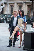 ROGER DALTREY; SANDIE SHAW, Celebration of the Arts. Royal Academy. Piccadilly. London. 23 May 2012.
