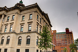 McLean County Illinois monuments and landmarks<br /> <br /> The old McLean County Courthouse and presently the home of the McLean County Museum of History.