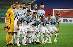 Team Slovenia during the UEFA Nations League C Group 3 match between Slovenia and Greece at Stadion Stozice, on September 3rd, 2020. Photo by Vid Ponikvar / Sportida