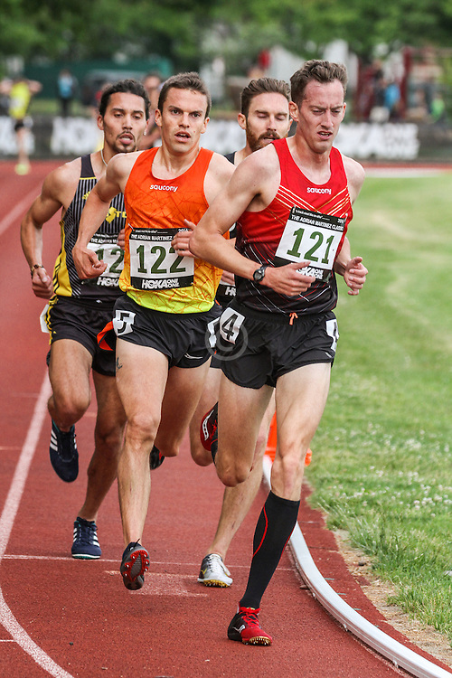 mens 5000 meters, Adrian Martinez Track Classic 2016, Saucony