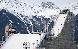 02.02.2017, Innsbruck, AUT, Air and Style 2017, Vorberichte, im Bild Übersicht Training // Overview of the Practice during prepertion of 2017 Air and Style in Innsbruck, Austria on 2017/02/02. EXPA Pictures © 2017, PhotoCredit: EXPA/ Johann Groder