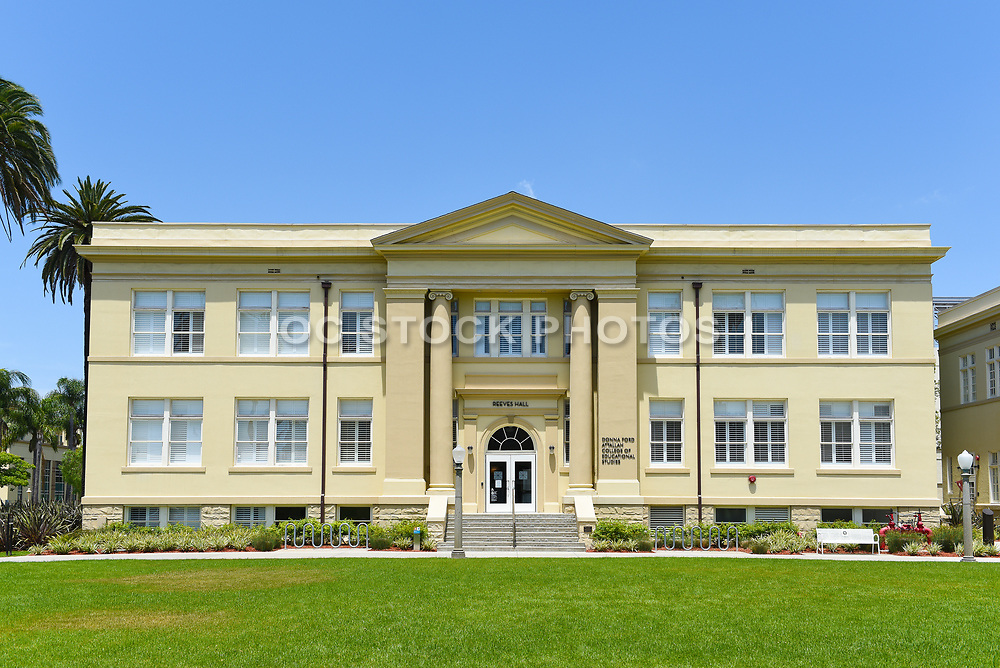 Reeves Hall on Chapman University Campus