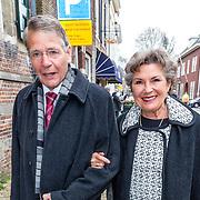 NLD/Naarden//20170414 - Matthaus Passion in de grote kerk van Naarden, Piet Hein Donner en partner Marisa