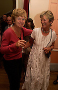 Diana Melly and Gill Coleridge.  Book launch of Take A Girl Like Me - Life With George by Diana Melly. The Polish Club. Exhibition Rd. London. 21 July 2005. ONE TIME USE ONLY - DO NOT ARCHIVE  © Copyright Photograph by Dafydd Jones 66 Stockwell Park Rd. London SW9 0DA Tel 020 7733 0108 www.dafjones.com