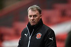 Fleetwood Town manager John Sheridan