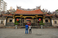 Although Chinese New Year is an interesting time to visit, stopping b on a quieter day allows one to reflect on the beautiful architecture and details.
