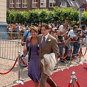 NLD/Groningen/20070609 - Huwelijk Arjen Robben en Bernadien Eillert, familie..Wedding of the dutch Chelsea soccer player Arjen Robben with his girlfriend Bernadien Eillert along with family and friends