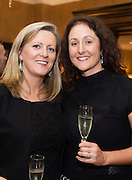 Ciara Tallon Gorta Self Help Africa and Antonia Dominguez at the Gorta Self Help Africa Annual Ball in Hotel Meyrick Galway City. Photo: Andrew Downes, XPOSURE.