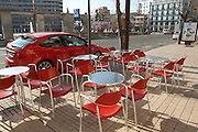restaurant terrace , Zamora spain castile and leon