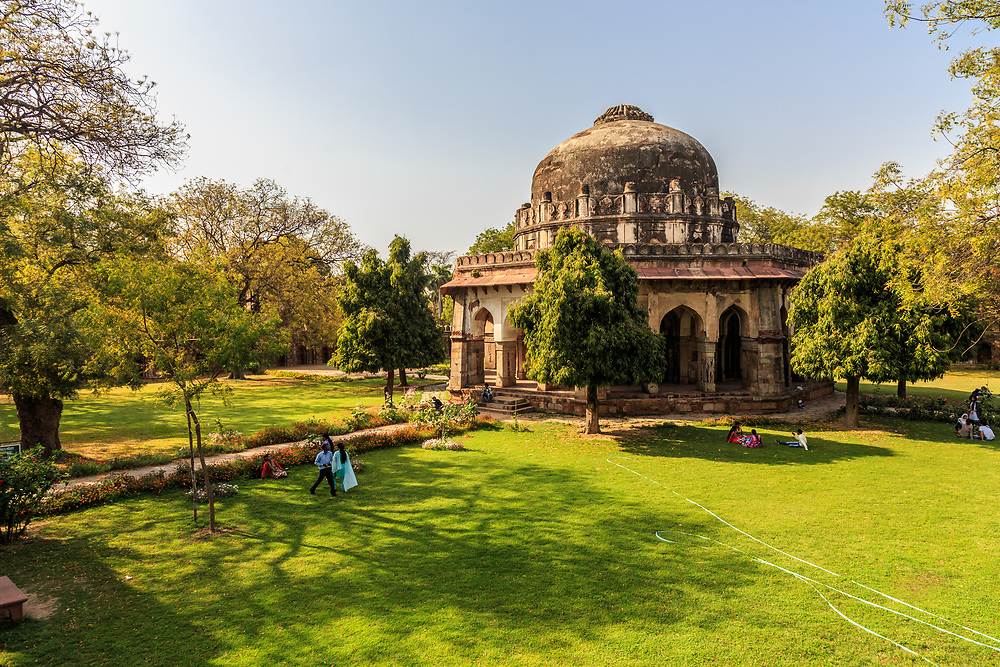The Tomb of Sikandar Lodi in New Delhi, India. Sikandar Lodi was the second and most significant ruler of the Lodi dynasty. He was the Sultan of Delhi between 1489 and 1517.