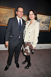 JONATHAN NEWHOUSE and ALEXANDRA SHULMAN at a party to celebrate the publication of Elena Makri Liberis's book 'Every Month, Same day' held at Sotheby's, 34-35 New Bond Street, London on 5th May 2009.
