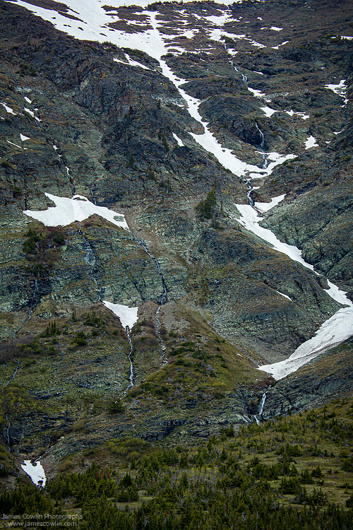 Two Medicine Lake Sunset-Glacier National Park