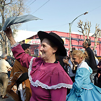Buenos Aires, Argentina 23 August 2009<br /> Feria de Mataderos.<br /> Buenos Aires' Market in Mataderos: Folk Dancing and Horse Shows.<br /> PHOTO: EZEQUIEL SCAGNETTI