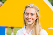Double Olympic gold medallist Laura Trott.  Prudential RideLondon a festival of cycling, with more than 95,000 cyclists, including some of the world's top professionals, participating in five separate events over the weekend of 1-2 August.