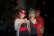 VICTOIRE COURSIER; MARIE-FRANCE COURSIER, Francesca Bortolotto Possati, Alessandro and Olimpia host Carnevale 2009. Venetian Red Passion. Palazzo Mocenigo. Venice. February 14 2009.  *** Local Caption *** -DO NOT ARCHIVE -Copyright Photograph by Dafydd Jones. 248 Clapham Rd. London SW9 0PZ. Tel 0207 820 0771. www.dafjones.com<br /> VICTOIRE COURSIER; MARIE-FRANCE COURSIER, Francesca Bortolotto Possati, Alessandro and Olimpia host Carnevale 2009. Venetian Red Passion. Palazzo Mocenigo. Venice. February 14 2009.