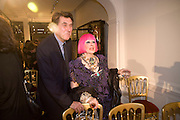 BRYAN FERRY; ZANDRA RHODES. The Launch of the Lanvin store on Mount St. Presentation and cocktails.  London. 26 March 2009