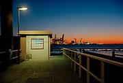 Ferry platform, Rotterdam harbour