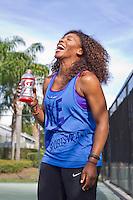 Serena Williams Gatorade shoot
