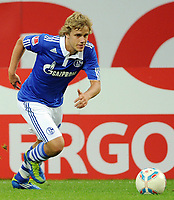 Fotball<br /> Tyskland<br /> 18.09.2011<br /> Foto: Witters/Digitalsport<br /> NORWAY ONLY<br /> <br /> Teemu Pukki (Schalke)<br /> Bundesliga, FC Schalke 04 - FC Bayern Muenchen 0:2