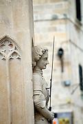 Orlando's column, Dubrovnik old town, Croatia