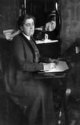 Jane Addams. American social reformer and feminist born in Cedarville, Illinois, co-winner of the Nobel Peace Prize in 1931.