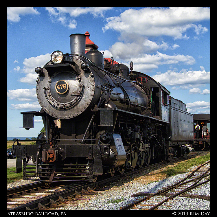 Engine 475<br /> Stasburg Railroad, PA<br /> August 2013