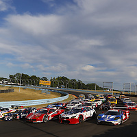 Watkins Glen, NY - Jun 30, 2016:  The IMSA WeatherTech Sportscar Championship teams take to the track for a practice session for the Sahlens Six Hours At The Glen at Watkins Glen International in Watkins Glen, NY.