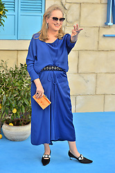 © Licensed to London News Pictures. 16/07/2018. London, UK. Meryl attends the Mamma Mia! Here We Go Again World Film Premiere at Eventim Apollo Hammersmith. Photo credit: Ray Tang/LNP