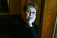 Una Stubbs, pictured during a break in rehearsals at the Royal Exchange Theatre in Manchester, where she is starring in Great Expectations which opens on 25th February..