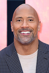 Dwayne The Rock Johnson attending the European premiere of Rampage, held at the Cineworld in Leicester Square, London. Photo credit should read: Doug Peters/EMPICS Entertainment