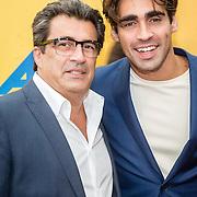 NLD/Breda/20160925 - Premiere Hair, Joey Ferre en zijn vader