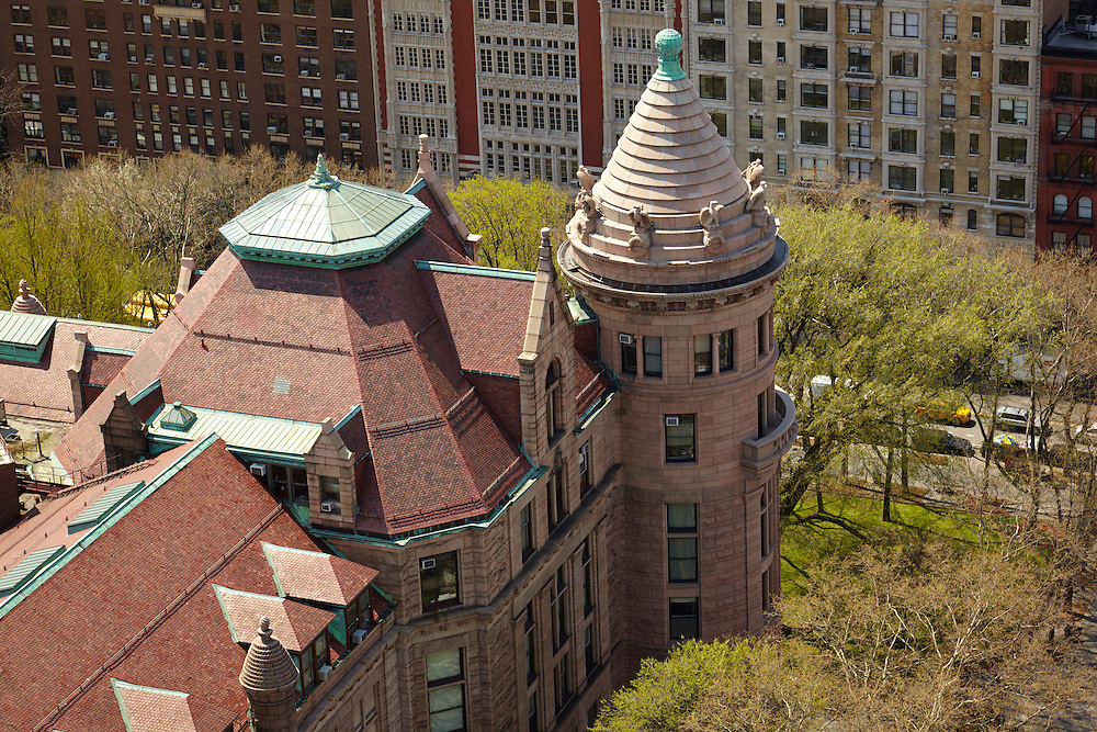 View of Museum of Natural History from 101 West 79th Street, 31st floor
