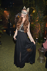OLIVIA GRANT at The Animal Ball presented by Elephant Family held at Victoria House, Bloomsbury Square, London on 22nd November 2016.