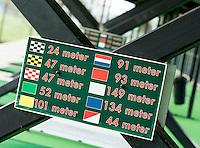 NOORDWIJK - Driving range.  afstanden,Golfcentrum Noordwijk. COPYRIGHT KOEN SUYK