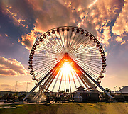 Branson Missouri Ferris Wheel photo by Brandon Alms Photography