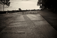 Memorial Tank Tracks. Walkabout in Westerplatte Memorial Park. Image taken with a Leica X2 camera and 24 mm lens.