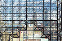 CitiScape is an image captured inside the Jacob Javits Center looking out.  Limited Edition.  1 of 25